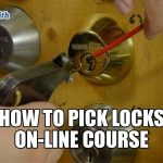 How to Pick Locks On-Line Course | Mr. Locksmith™